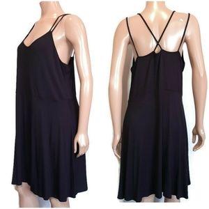 🍁 REITMANS Strappy A-Line Flowy Rayon Sun Dress